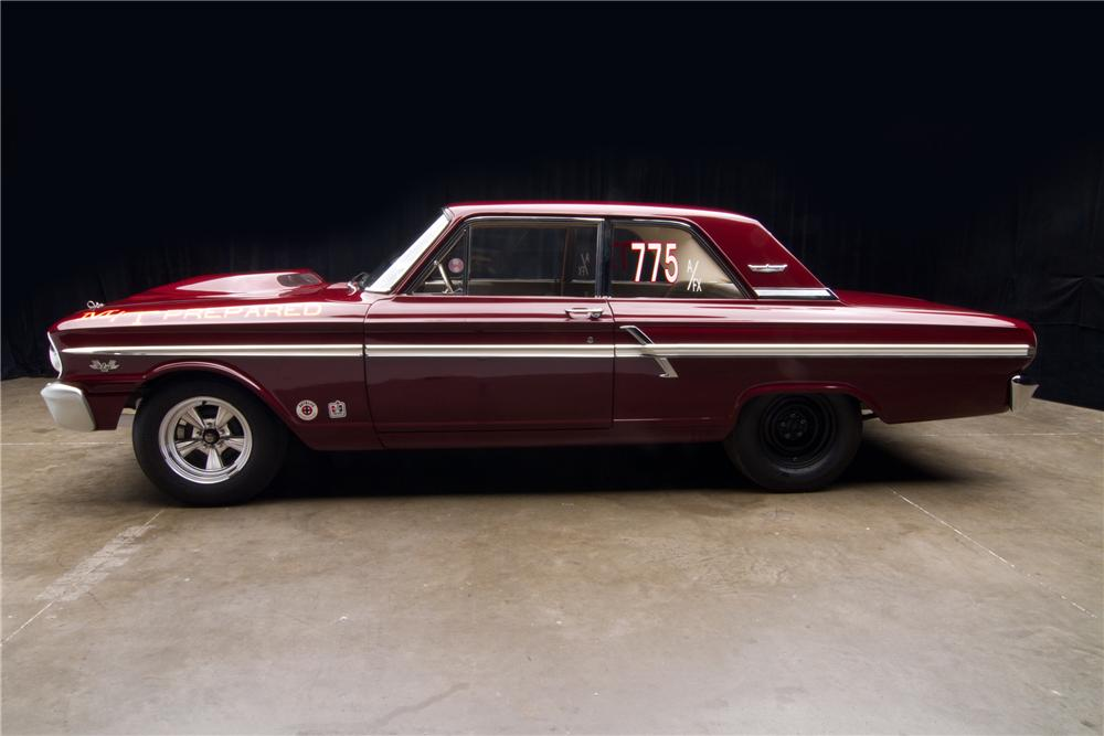 1964 FORD THUNDERBOLT 2 DOOR - Side Profile - 116813