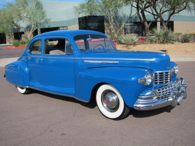 1946 LINCOLN CLUB COUPE - Front 3/4 - 116939