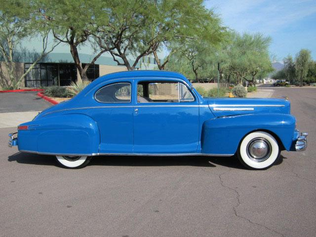 1946 LINCOLN CLUB COUPE - Side Profile - 116939