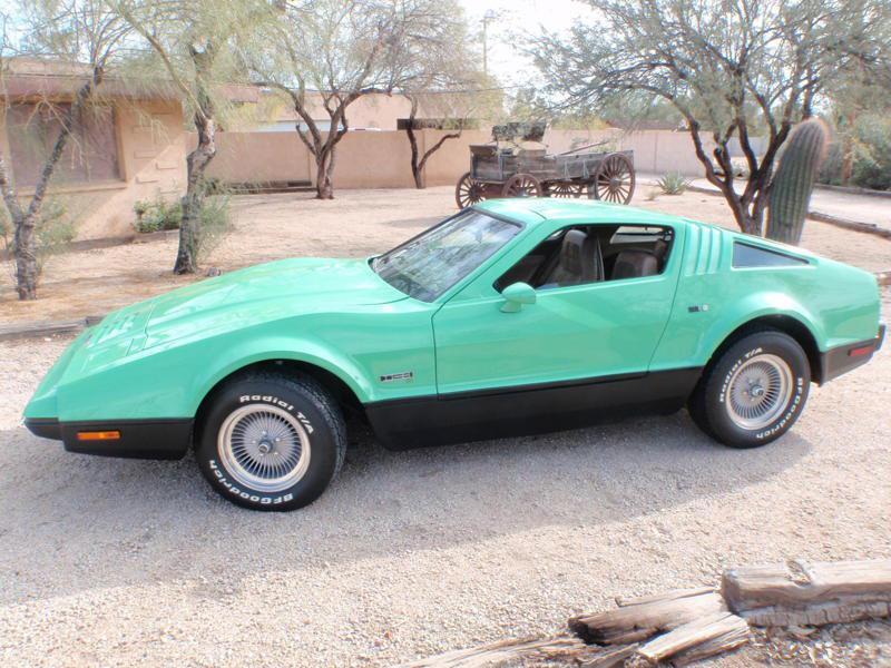 1975 BRICKLIN SV-1 2 DOOR GULLWING COUPE - Side Profile - 116946