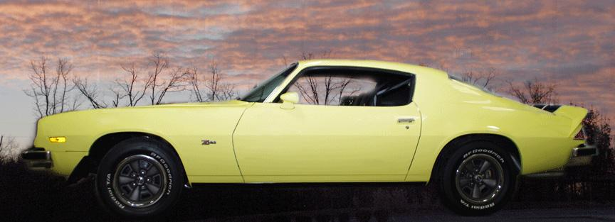 1974 CHEVROLET CAMARO Z/28 COUPE - Front 3/4 - 116949
