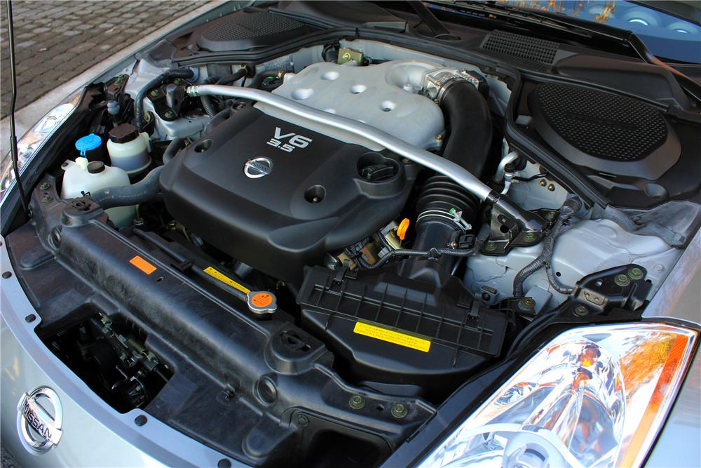 2003 NISSAN 350Z COUPE - Engine - 117002