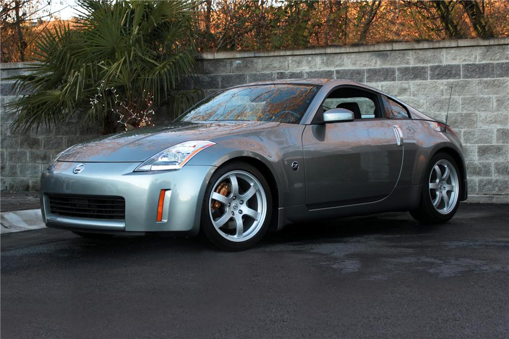 2003 NISSAN 350Z COUPE - Front 3/4 - 117002