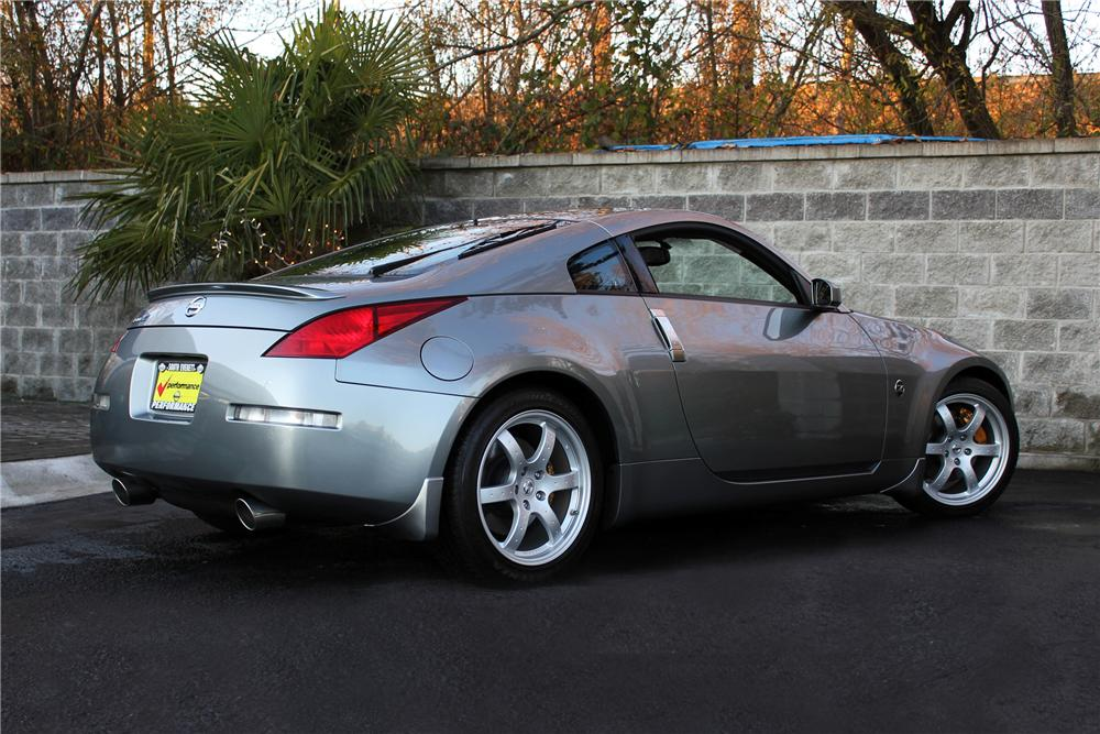 2003 NISSAN 350Z COUPE - Rear 3/4 - 117002