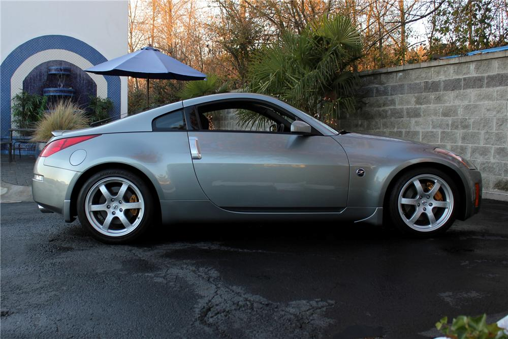 2003 NISSAN 350Z COUPE - Side Profile - 117002