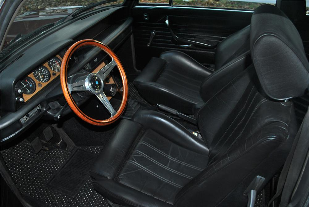 1974 BMW 2002TII 2 DOOR COUPE - Interior - 117009