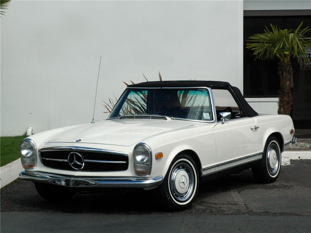 1969 mercedes benz 280sl roadster 117010