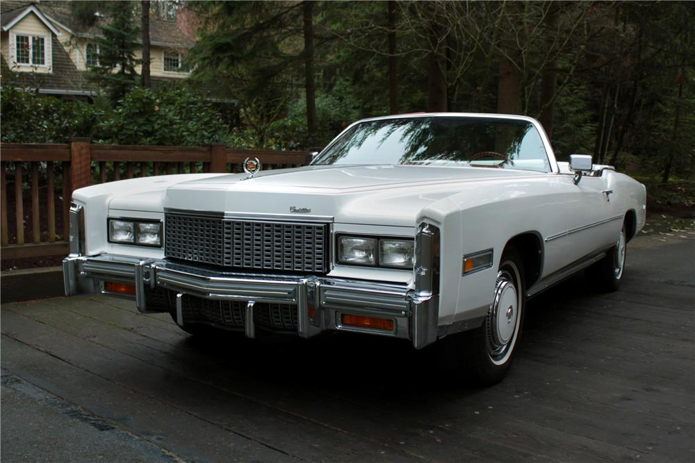 1976 cadillac eldorado 2 door convertible 117011. Black Bedroom Furniture Sets. Home Design Ideas