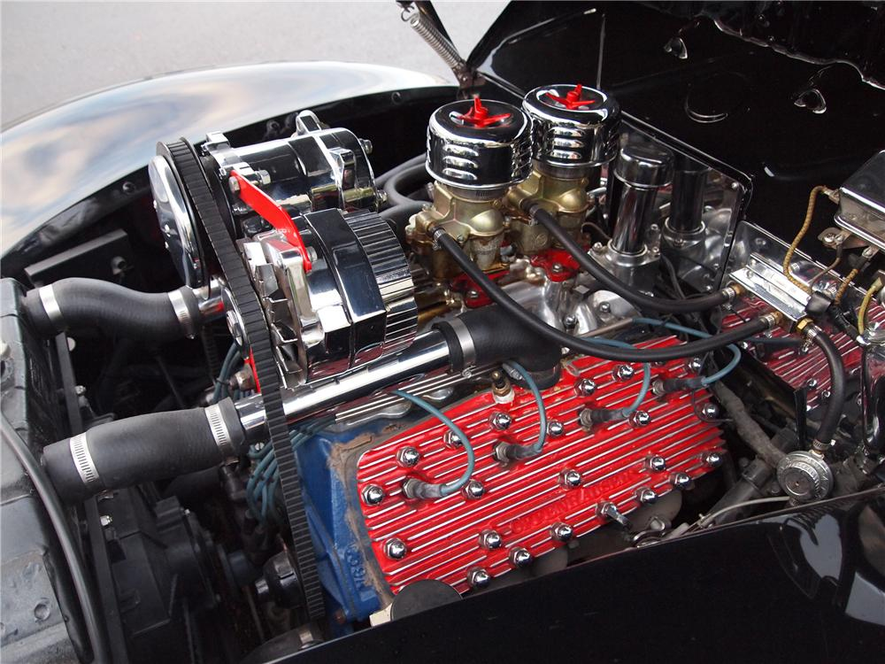 1940 FORD CUSTOM CONVERTIBLE - Engine - 117032