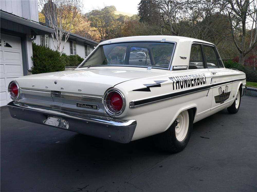 1964 FORD FAIRLANE THUNDERBOLT RE-CREATION - Rear 3/4 - 117055