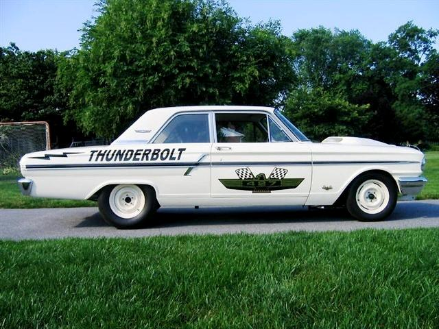 1964 FORD FAIRLANE THUNDERBOLT RE-CREATION - Side Profile - 117055