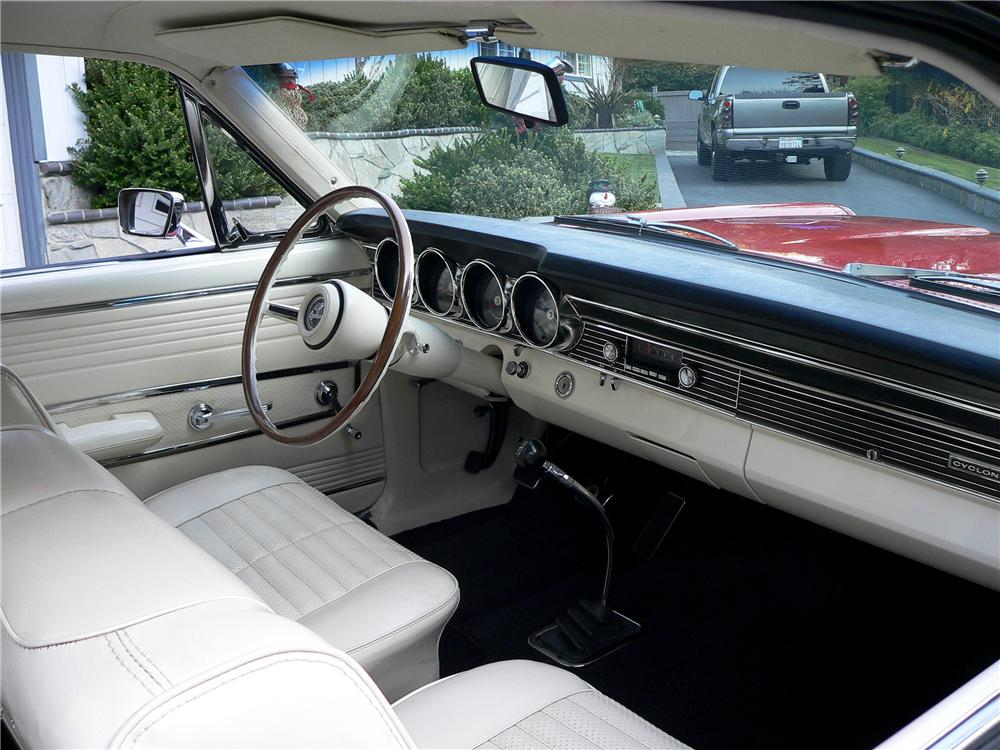 1967 MERCURY CYCLONE GT 2 DOOR COUPE - Interior - 117056