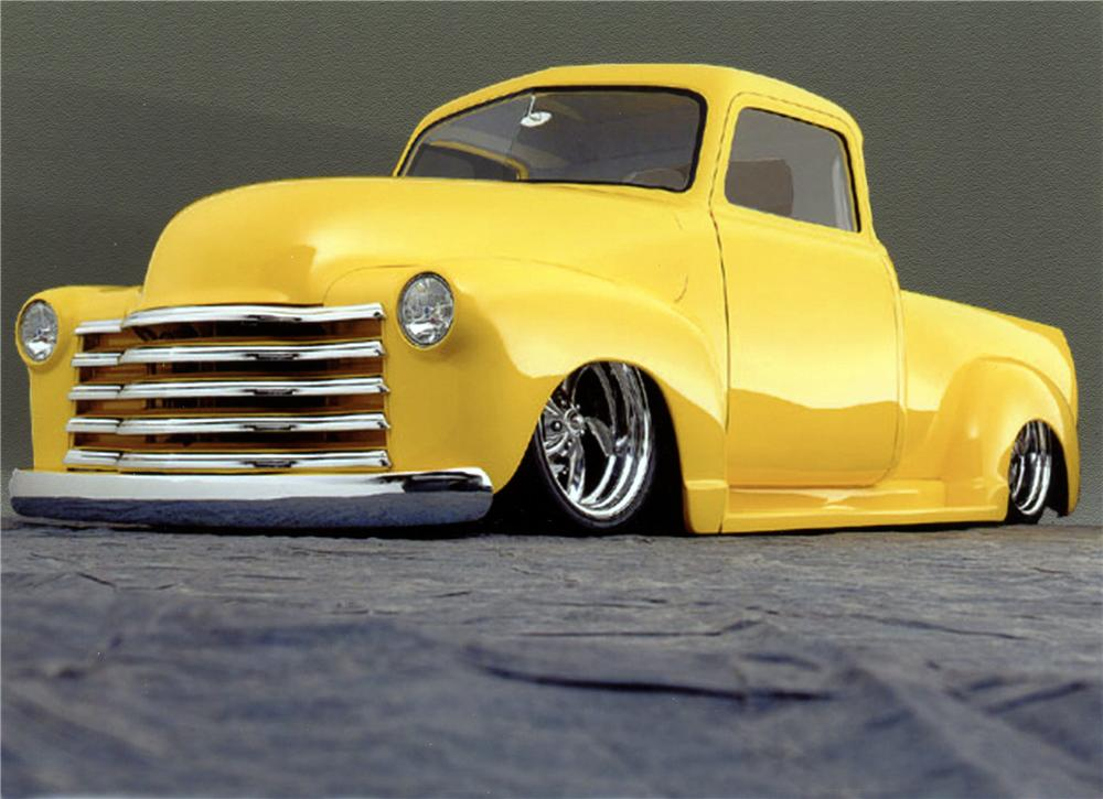 1953 CHEVROLET CUSTOM PICKUP - Front 3/4 - 117060