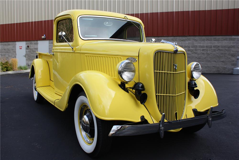 1936 FORD 2 DOOR PICK UP - Front 3/4 - 117069