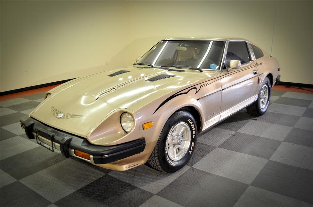 1979 DATSUN 280ZX 2 DOOR COUPE - Front 3/4 - 117073