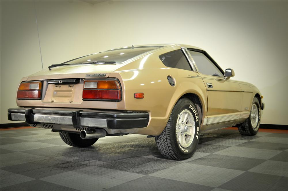 1979 DATSUN 280ZX 2 DOOR COUPE - Rear 3/4 - 117073