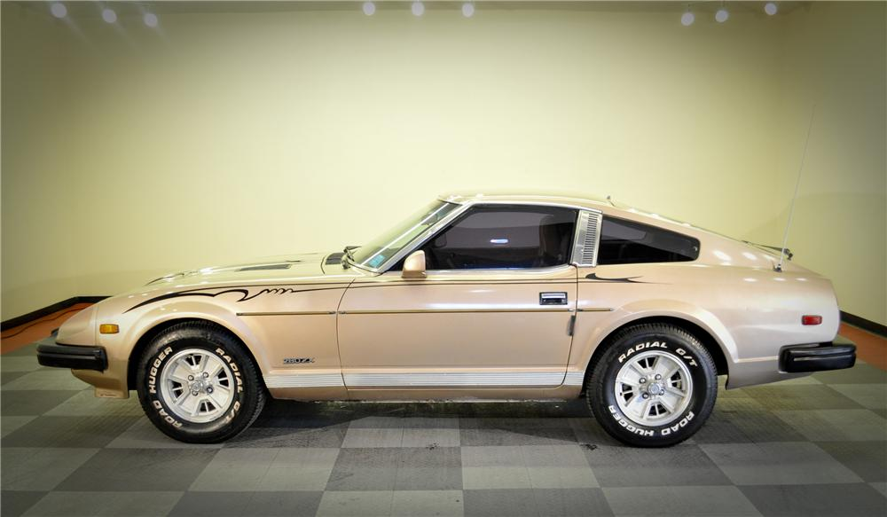 1979 DATSUN 280ZX 2 DOOR COUPE - Side Profile - 117073