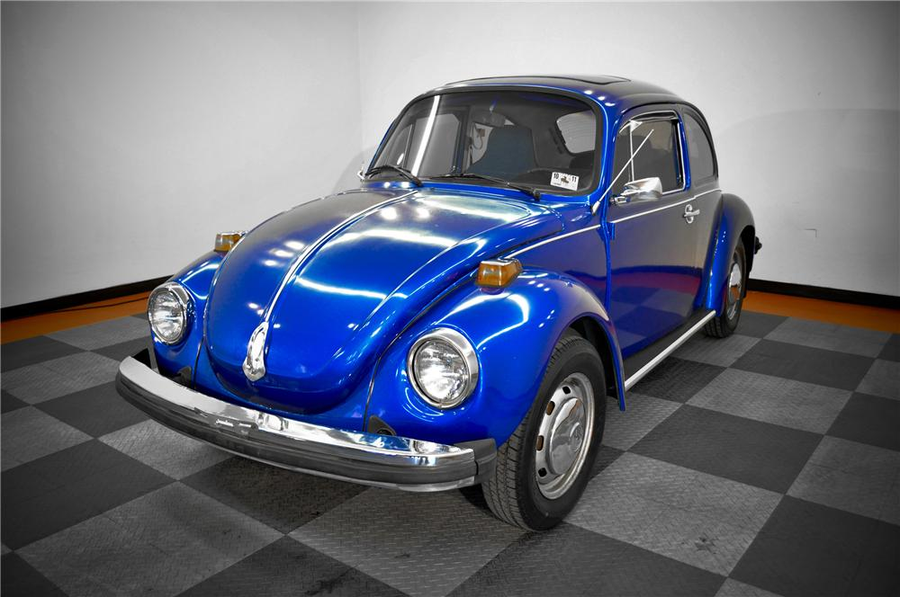 1974 VOLKSWAGEN BEETLE 2 DOOR COUPE - Front 3/4 - 117074