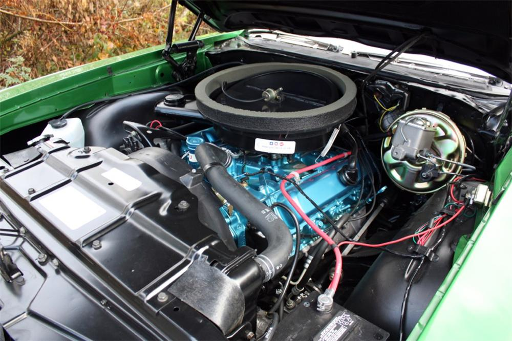 1970 OLDSMOBILE CUTLASS 442 CONVERTIBLE - Engine - 117076