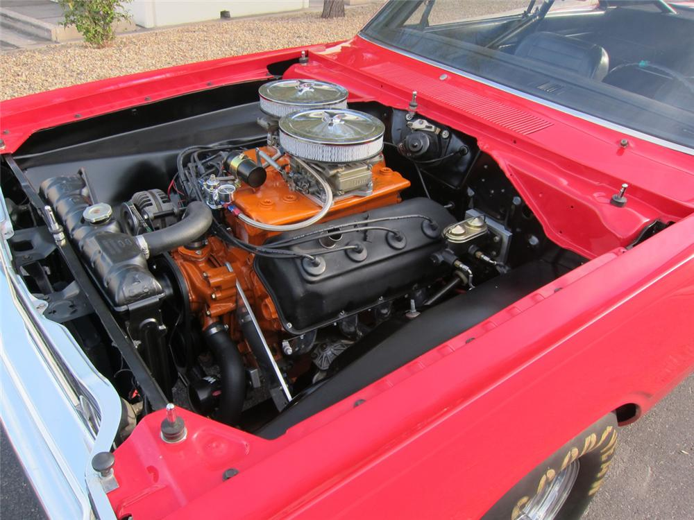 1968 DODGE HEMI DART SUPER STOCK - Engine - 117084