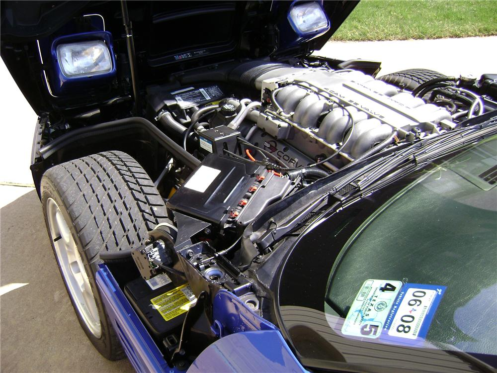 1994 CHEVROLET CORVETTE ZR1 COUPE - Engine - 117085
