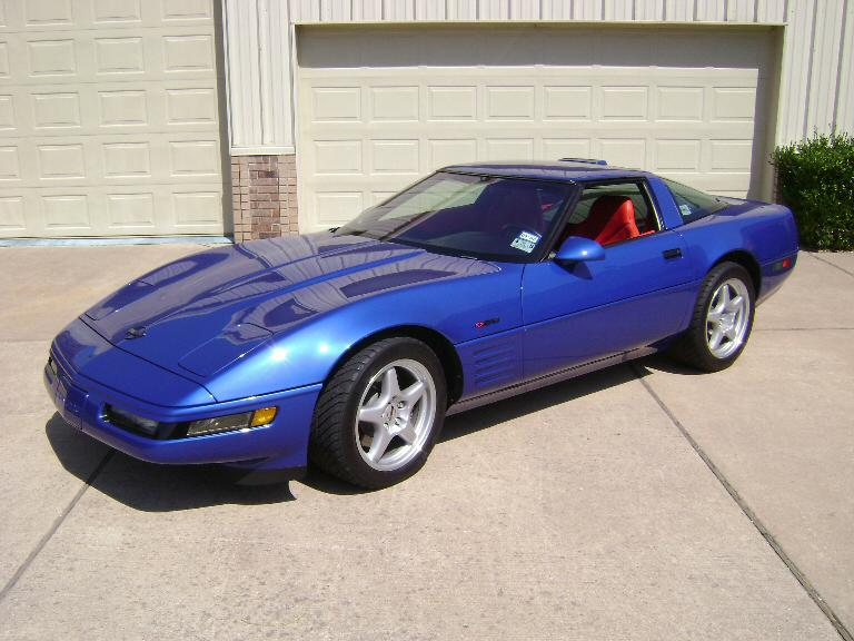 1994 CHEVROLET CORVETTE ZR1 COUPE - Front 3/4 - 117085