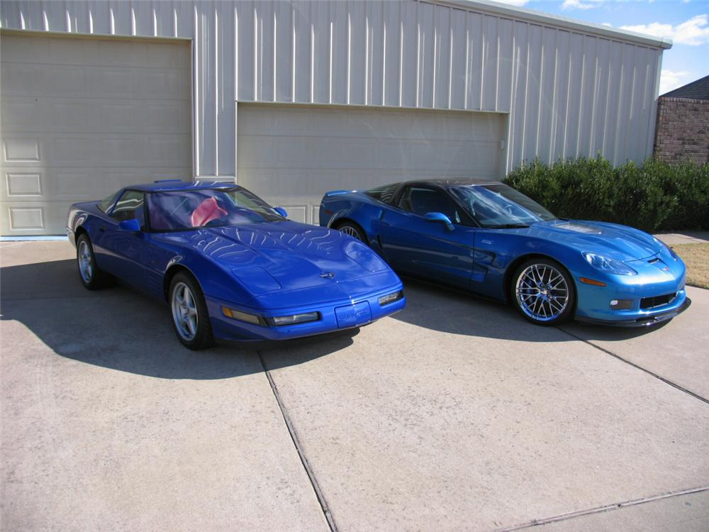 1994 CHEVROLET CORVETTE ZR1 COUPE - Side Profile - 117085