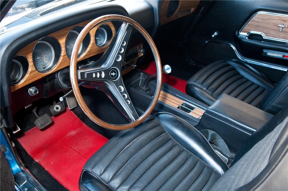 "1969 FORD MUSTANG 428 CJ ""R"" FASTBACK - Interior - 117087"