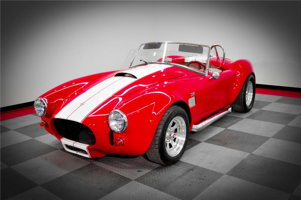 1966 SHELBY COBRA RE-CREATION ROADSTER - Front 3/4 - 117089