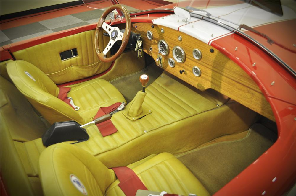 1966 SHELBY COBRA RE-CREATION ROADSTER - Interior - 117089