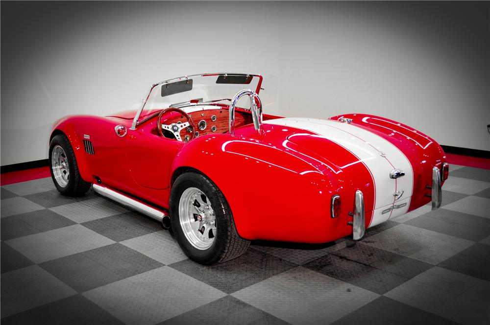 1966 SHELBY COBRA RE-CREATION ROADSTER - Rear 3/4 - 117089