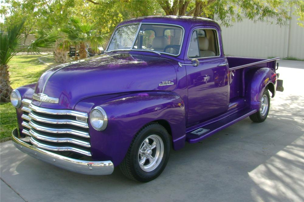 1953 CHEVROLET 3600 CUSTOM PICKUP