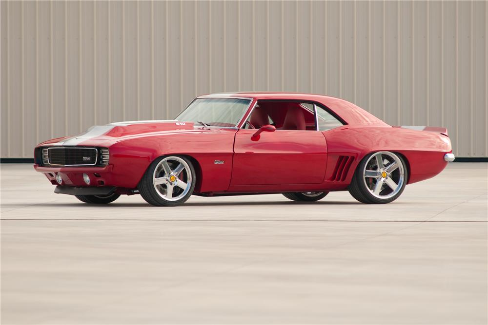 1969 CHEVROLET CAMARO SS BALDWIN-MOTION COUPE - Front 3/4 - 117099