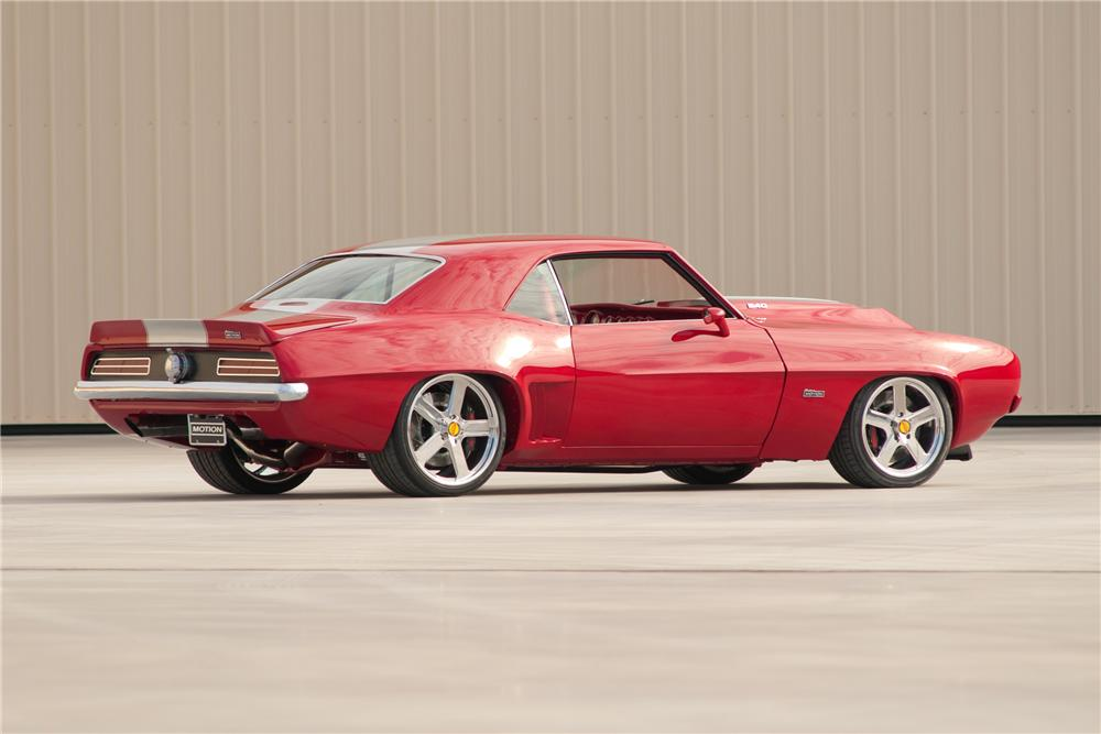1969 CHEVROLET CAMARO SS BALDWIN-MOTION COUPE - Rear 3/4 - 117099