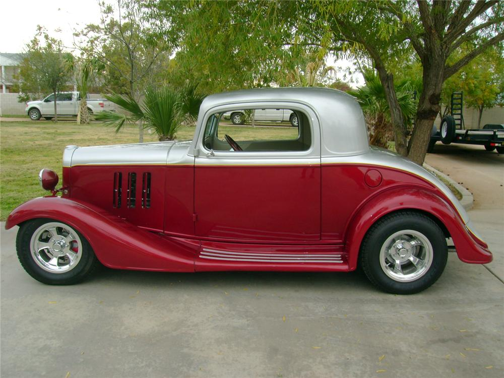 1933 chevrolet custom 2 door coupe 117101 for 1933 chevy 5 window coupe for sale
