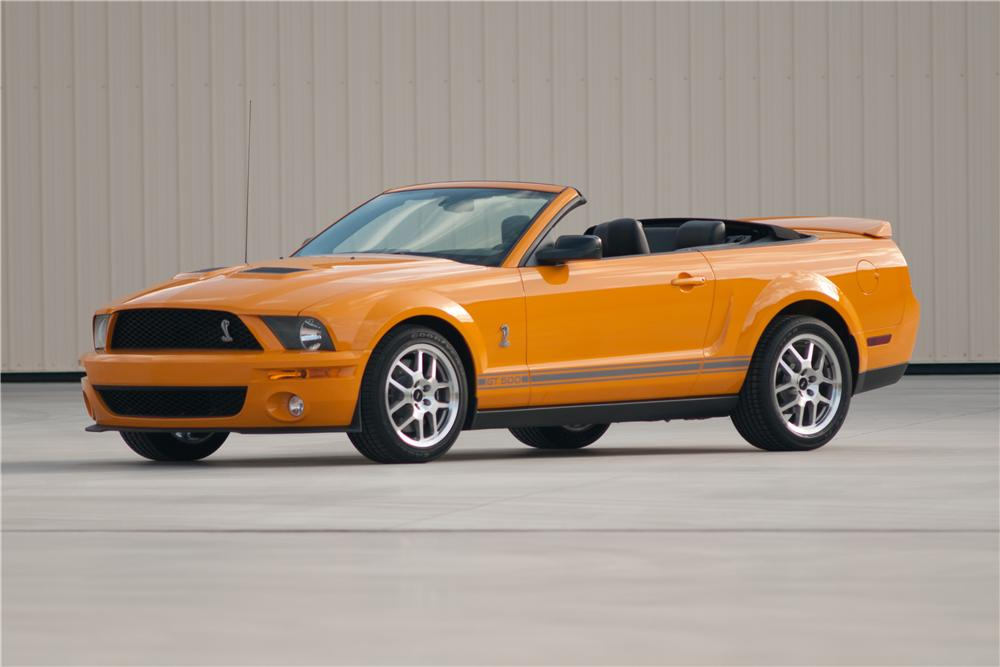 2007 FORD SHELBY GT500 CONVERTIBLE - Front 3/4 - 117102