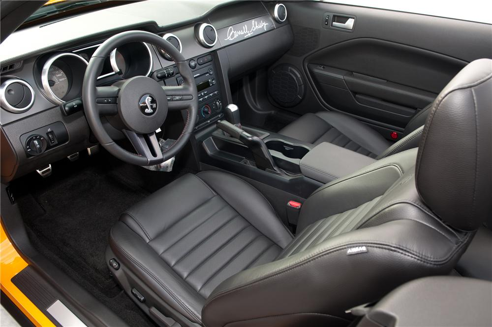 2007 FORD SHELBY GT500 CONVERTIBLE - Interior - 117102