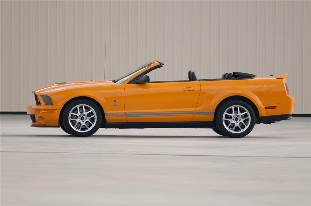 2007 FORD SHELBY GT500 CONVERTIBLE - Side Profile - 117102