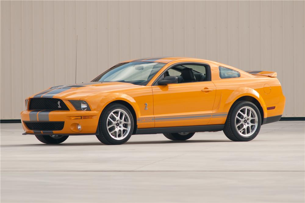 2007 FORD SHELBY GT500 COUPE - Front 3/4 - 117104