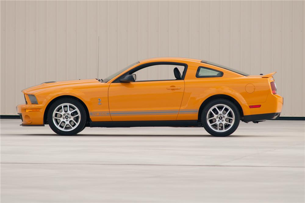 2007 FORD SHELBY GT500 COUPE - Side Profile - 117104