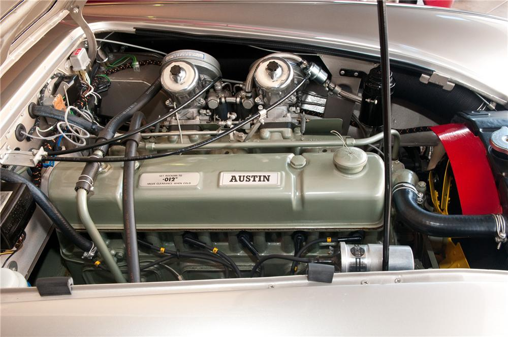 1967 AUSTIN-HEALEY 3000 MARK III BJ8 PHASE II CONVERTIBLE - Engine - 117107