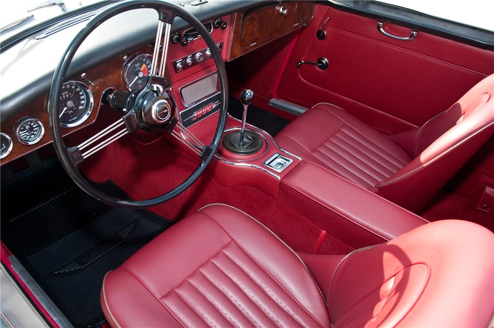 1967 AUSTIN-HEALEY 3000 MARK III BJ8 PHASE II CONVERTIBLE - Interior - 117107