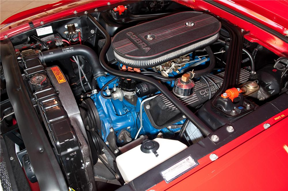 1968 SHELBY GT500 CONVERTIBLE - Engine - 117111