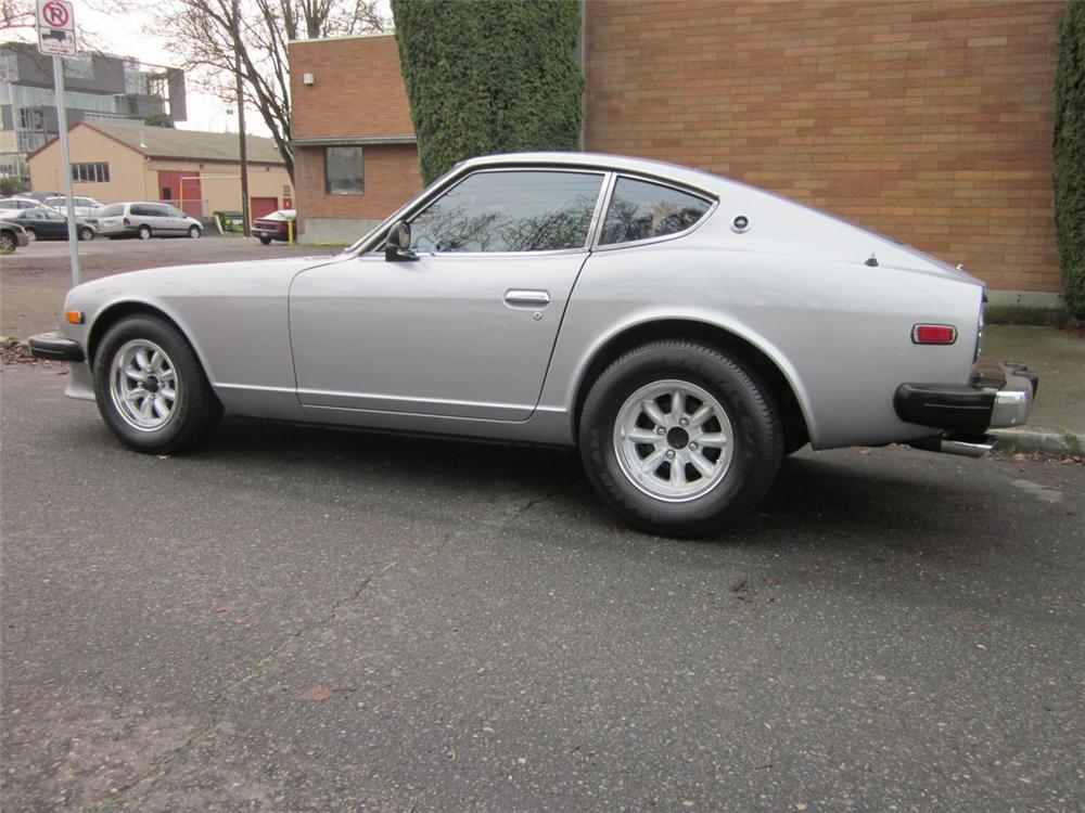 1975 DATSUN 280Z HATCHBACK - Side Profile - 117129