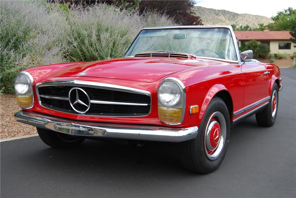 1966 mercedes benz 230sl convertible 117143