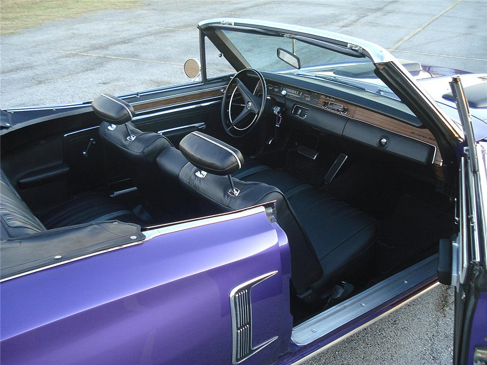 1970 DODGE CORONET 500 CONVERTIBLE - Interior - 117144