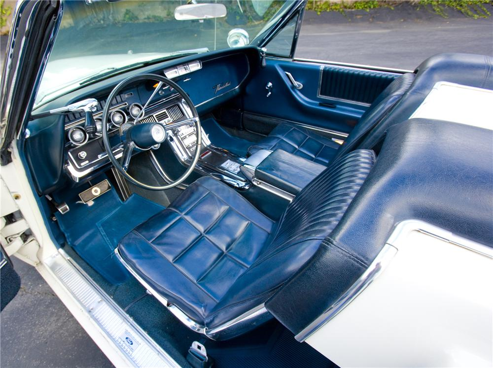1966 FORD THUNDERBIRD CONVERTIBLE - Interior - 117148