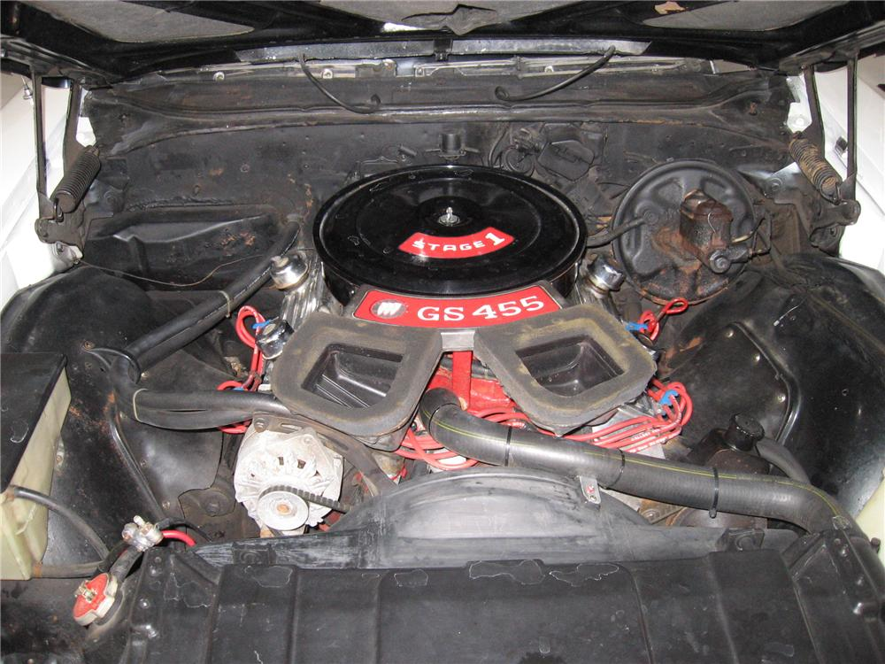 1970 BUICK GS CONVERTIBLE - Engine - 117150