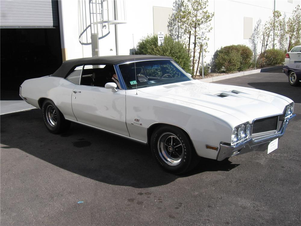 1970 BUICK GS CONVERTIBLE - Front 3/4 - 117150