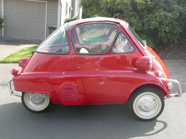 1956 BMW ISETTA 300 MOTOCOUPE - Side Profile - 117165